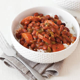 Creole Red Beans and Rice.
