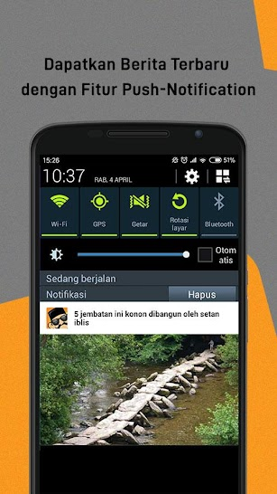 BaBe+ - Berita Indonesia screenshot for Android