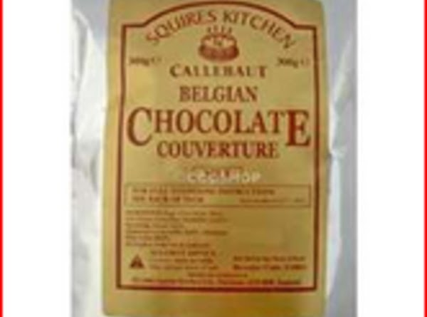 Couverture : best for baking and confections.A glossy form of chocolate used by professional...