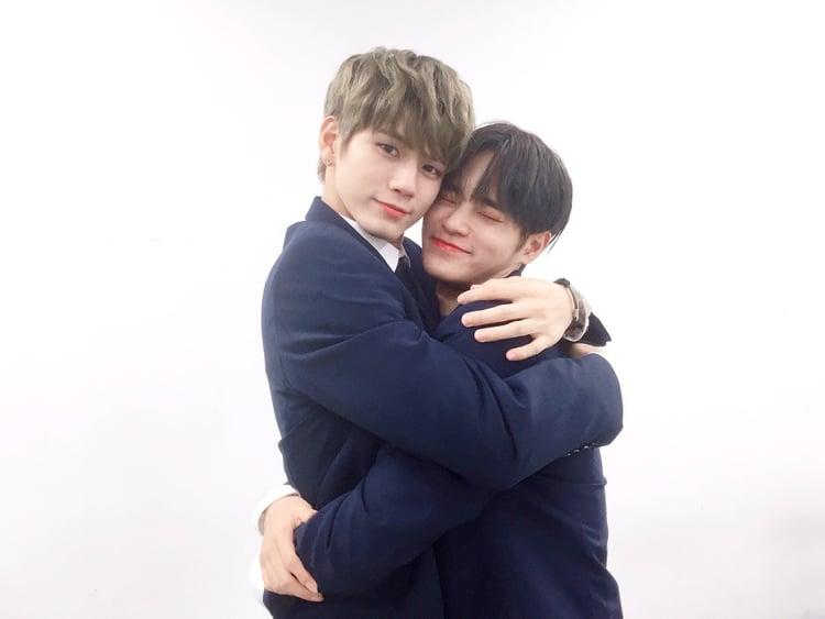 WANNA ONE Daehwi and Seongwu