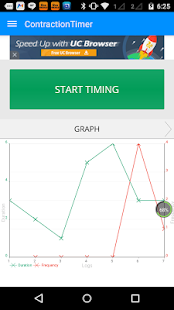 Contraction Timer- screenshot thumbnail