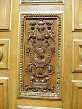 Photo: The Chamber's oak paneling includes artistic carvings by Jean-Baptiste Jules Klagmann and Elshoècht Triqueti.