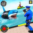 US Police Shark Gangster Chase: Crime Cop Duty