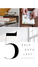 5 Sales Days Left - Facebook Story item