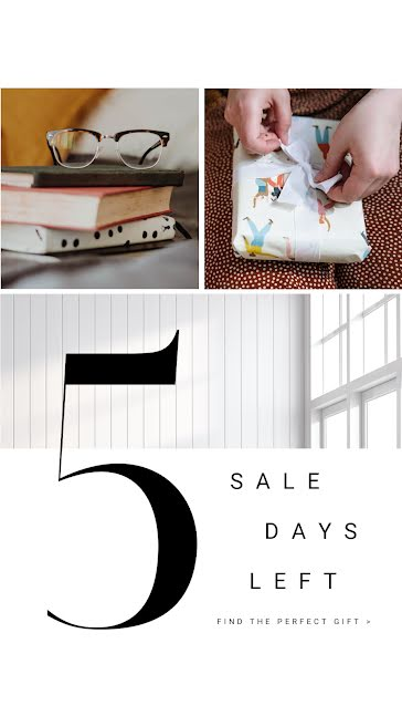 5 Sales Days Left - Facebook Story Template