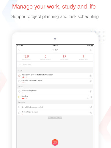 Focus To-Do: Pomodoro Timer & To Do List 10.1 Screenshots 11