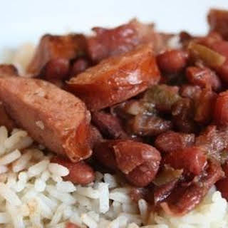 Susan's Red Beans and Rice.