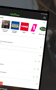 radio.de - Radio und Podcast Player Screenshot