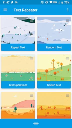Text Repeater screenshot 1