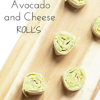 Avocado and Cheese Rolls Recipe