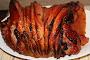 Riesling Mango-Pepper Glazed Ham
