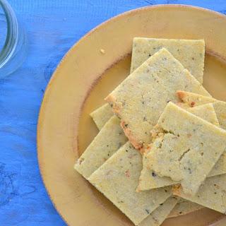 Rosemary Almond Flour Crackers Recipe