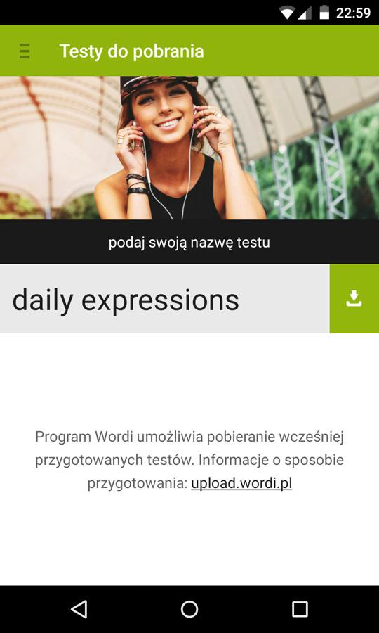 Wordi Learning with Flashcards- screenshot