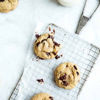 Ooey Gooey Chewy Maple Chocolate Chunk Cookies