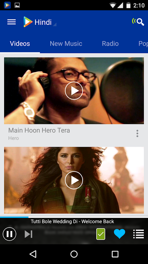 Hungama Music - Songs & Videos- screenshot