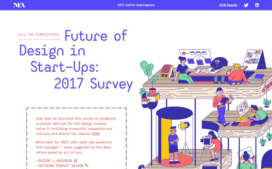 10 تصاميم غرافيكية ملهمة ودارجة لعام 2018