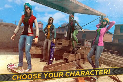 Skateboard Girls vs Boys 1.6.0 screenshots 3