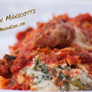 Spinach Manicotti Recipe