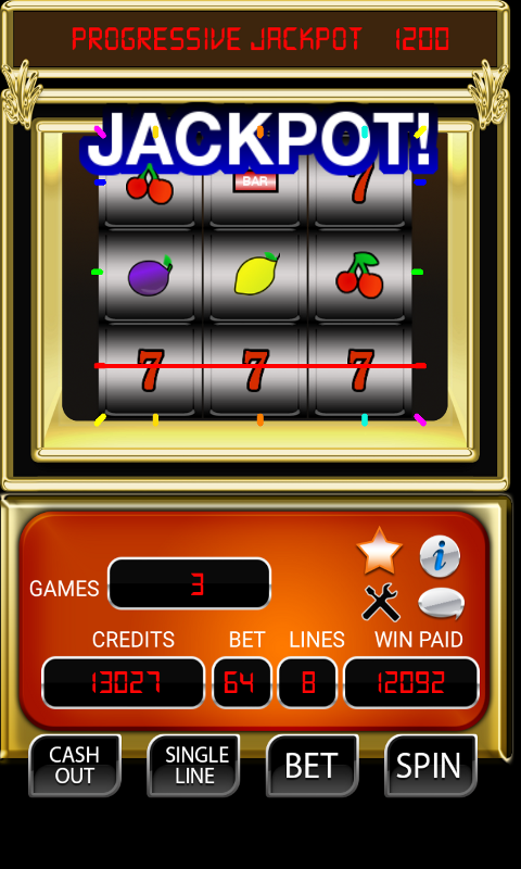 9 WHEEL SLOT MACHINE- screenshot