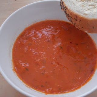 Spicy Tomato & Dill Soup
