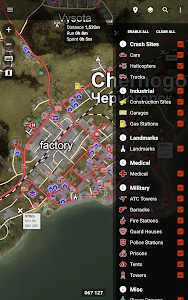 Central for DayZ - Map & Guide v1.34