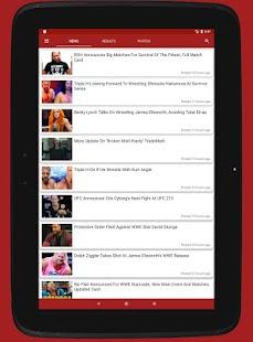 Wrestle News - náhled