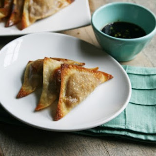 Chicken Teriyaki Wontons.