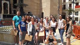 Los participantes del curso de formación.