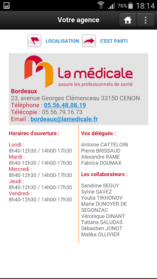 La Médicale- screenshot