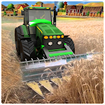 Tractor Farming Tools Simulation 3D Icon