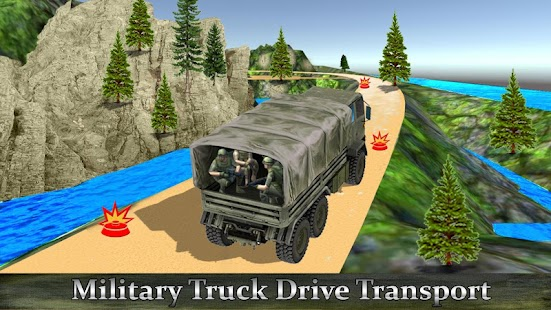 Army Truck Off-road Drive Cargo Duty - náhled