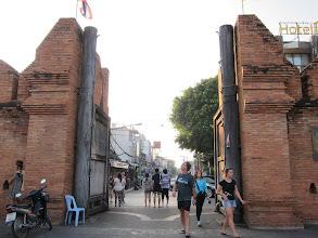 Photo: Outside Tha Phae gate