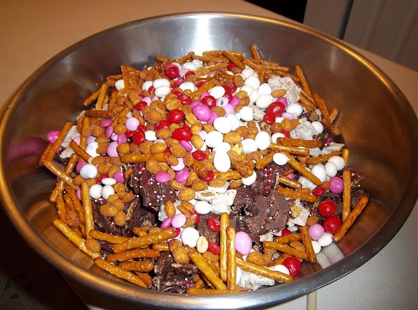 Sweet And Salty Valentine Snack Mix Recipe