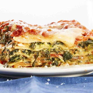 Easiest-Ever Spinach Lasagna.