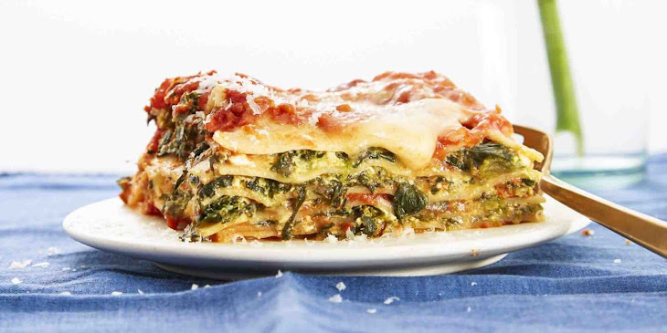 Easiest-Ever Spinach Lasagna Recipe