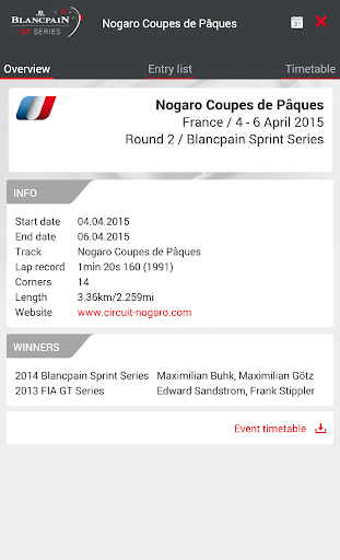 Download Blancpain GT Series GT World Challenge Europe on PC & Mac