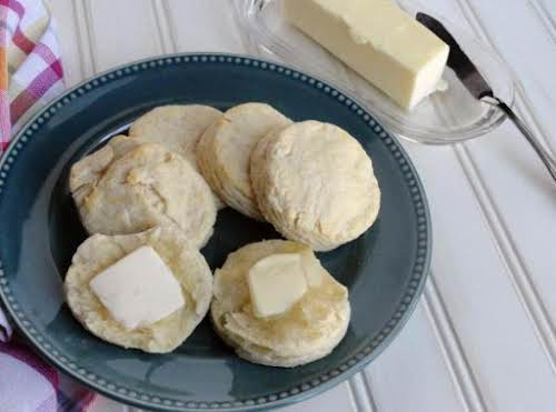 """Failproof Fluffy Butter Biscuits """"FINALLY! A biscuit recipe that is yummy and..."""