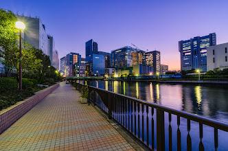 Photo: A beautiful evening in Shinagawa, Tokyo