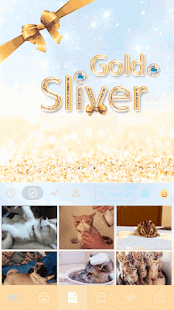 Gold-Sliver-Kika-Keyboard 3