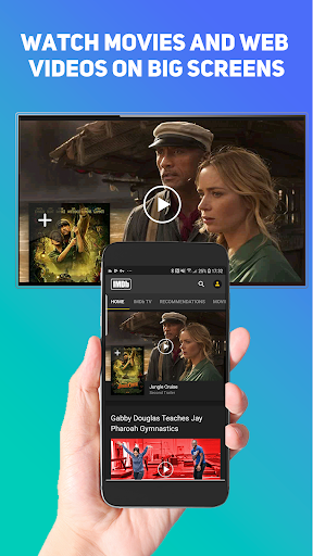 Screen Mirroring-Mobile Screen Cast to TV