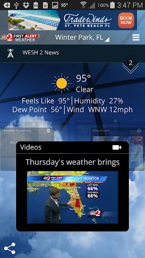 WESH 2 First Alert Weather screenshot 1