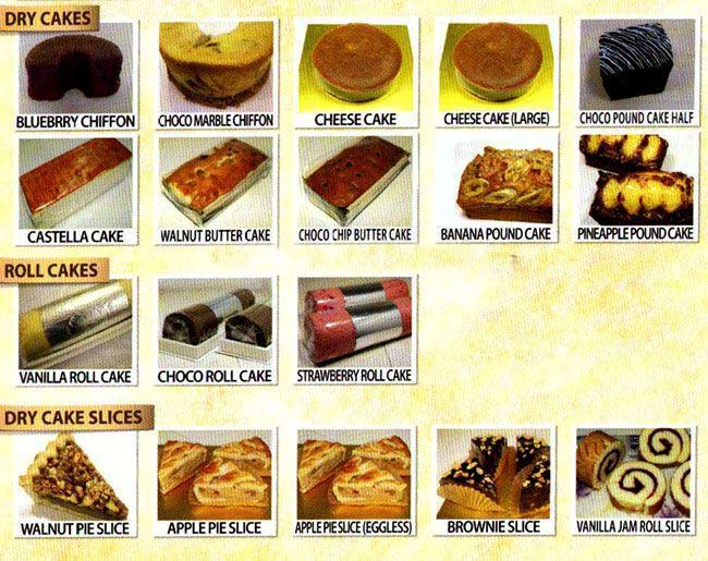 Sonya Bakery Cafe menu 4
