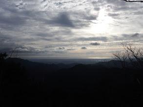 稜線からの展望