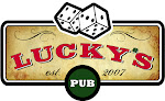 Logo for Lucky's Pub