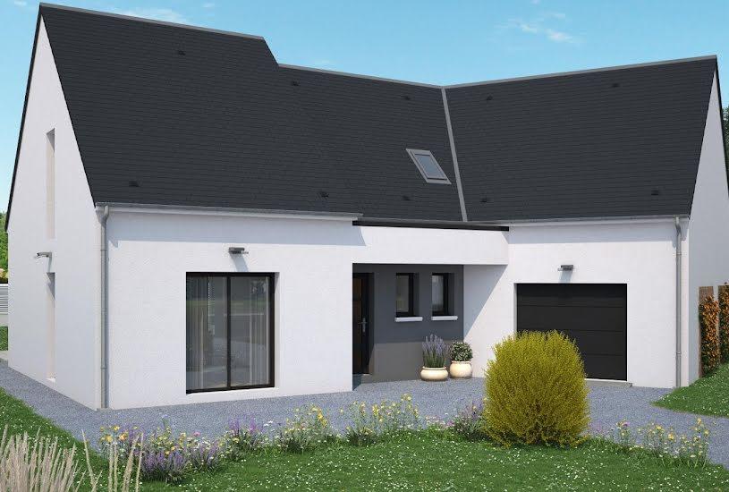 Vente Terrain + Maison - Terrain : 1200m² - Maison : 164m² à Candé (49440)