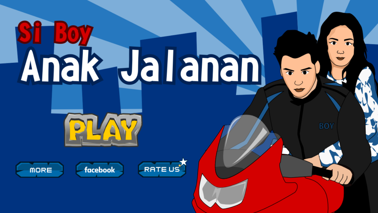 Si Boy Anak Jalanan Android Apps On Google Play