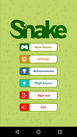 android Classic Retro Snake Screenshot 10