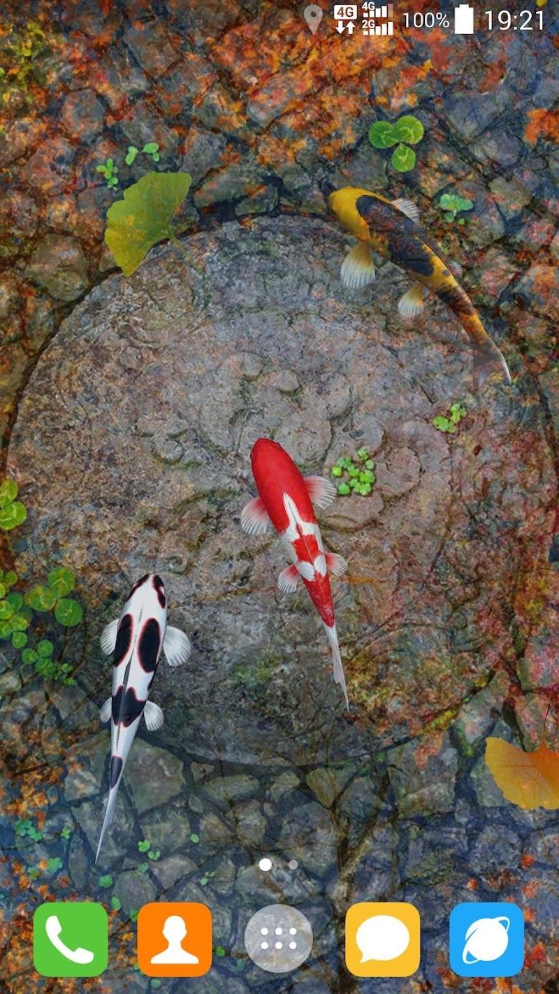 Water Garden Live Wallpaper Screenshot 5