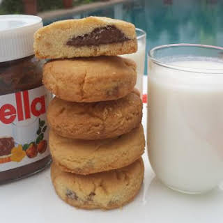 Nutella Filled Cookies.
