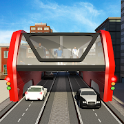 Game Elevated Bus Simulator: Futuristic City Bus Games APK for Windows Phone